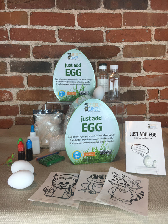 Just Add Eggs Activity/Science Kits