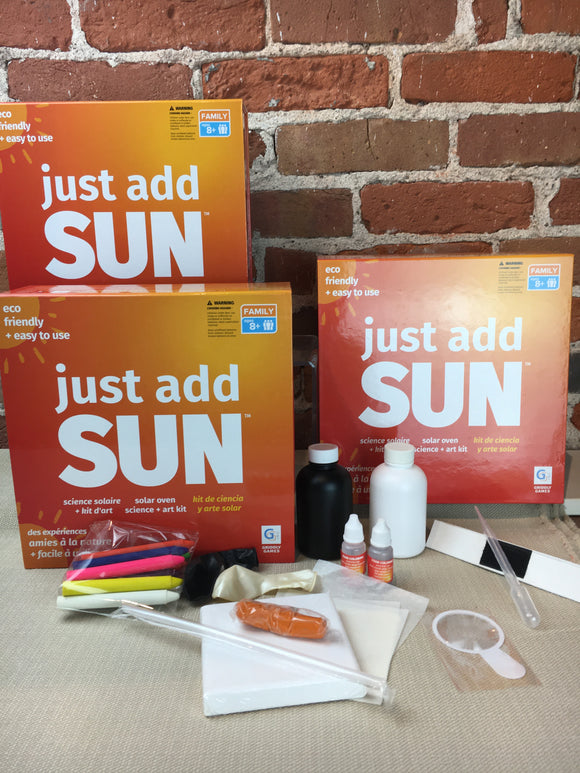 Just Add Sun Activity/Science Kit