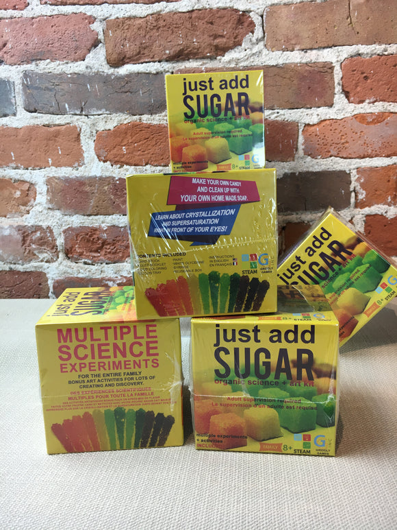 Just Add Sugar Activity/Science Kit