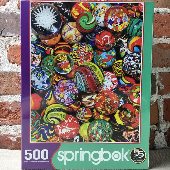 Marble Madness 500 Piece Puzzle