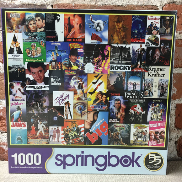 Going to the Movies 1000 Piece Puzzle
