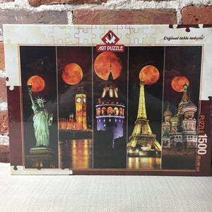 Blood Moon 1500 Piece Puzzle