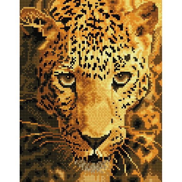 Diamond Painting Kit -14x17 Jaguar Prowl