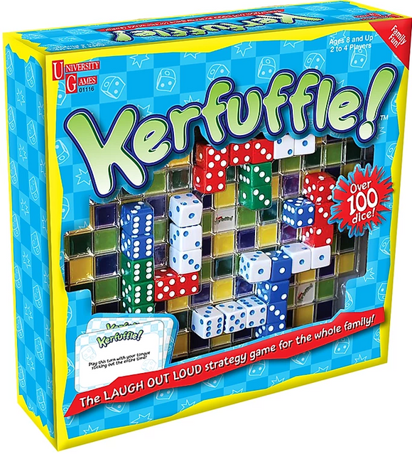 Kerfuffle Dice Board Game