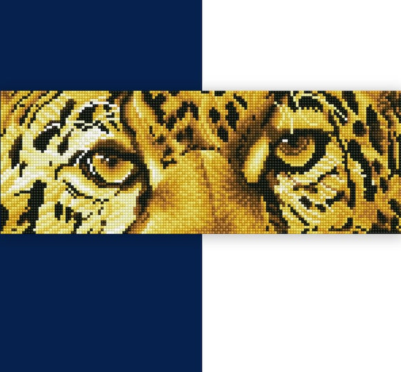 Diamond Painting Kit - 6x16.5 Leopard Spy