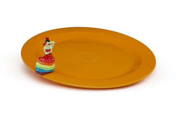 Nora Fleming Fiesta Platter & Mini Set Fiesta01