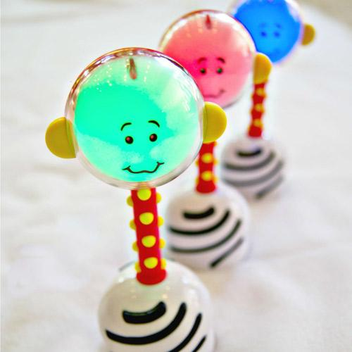 Nogginstik Light-Up Rattle