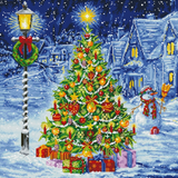Diamond Paint Kit - 30x30 Oh Christmas Tree