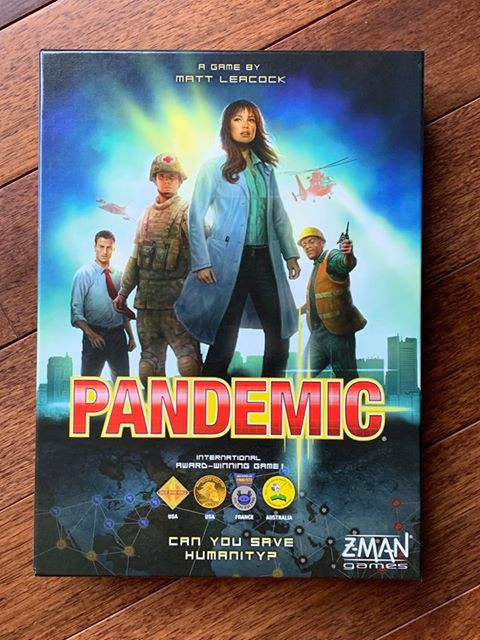 Pandemic Cooperative Board Game