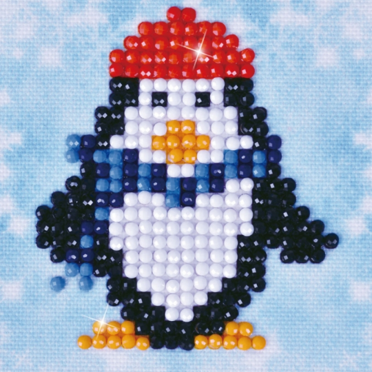 Diamond Paint Kit - 3x3 Penguin