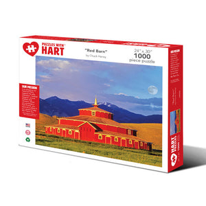 Red Barn - 1000 Piece Puzzle