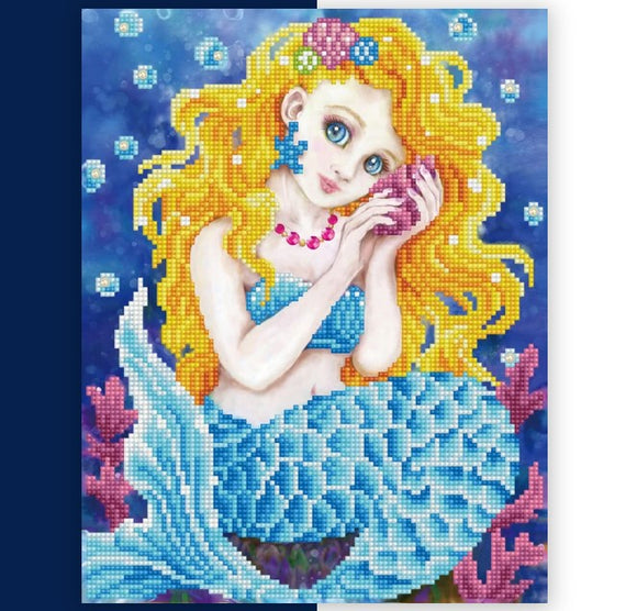 Diamond Painting Kit - 11x13 Sounds of the Sea