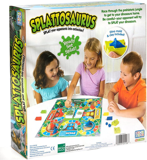Splattosaurus Board Game