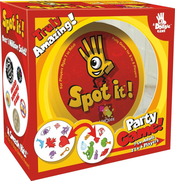 Spot It Family Party Game