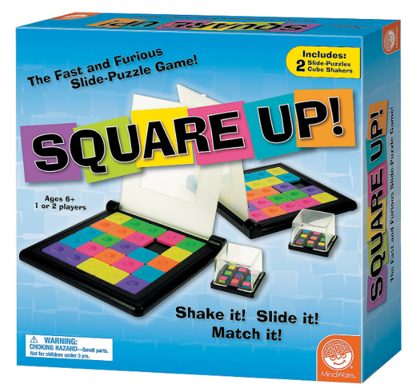 Square Up (1 or 2 Person Game)