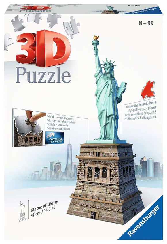 Statue of Liberty 3D Puzzle 108 pieces