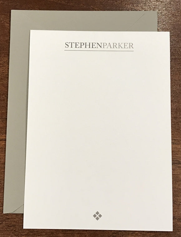 Personalized Notecards - Stephen Parker