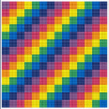 Diamond Painting Kit - 8x8 Tetris Color Blocks