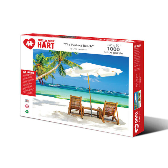 Perfect Beach - 1000 Piece Puzzle