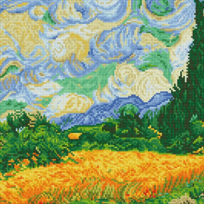 Diamond Paint Kit - 15x20 Wheat Fields