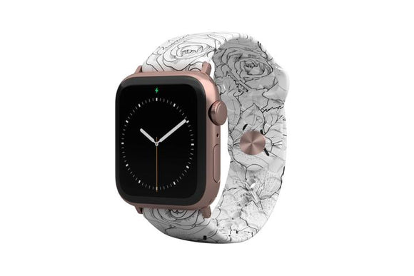 Groove Apple Watch Band Womens - Winter Rose/Rose Gold