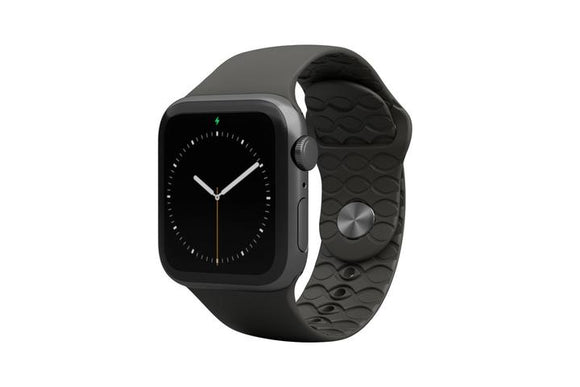 Groove Apple Watch Band Womens - Solid Black