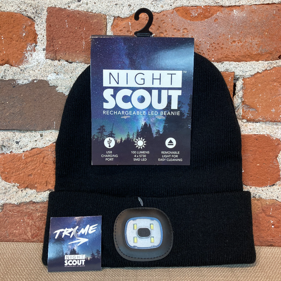 Light-up LED Night Scout Beanies (Rechargeable!)