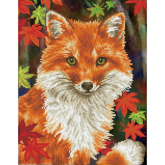Diamond Painting Kit - 12x17 Foxy