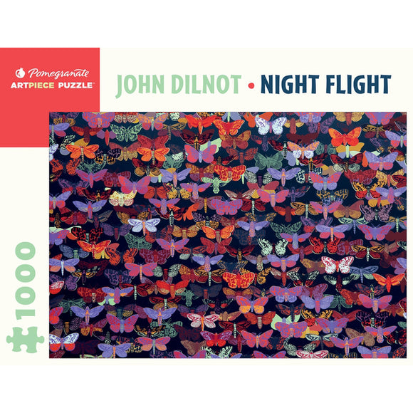 Night Flight 1000 Piece Puzzle