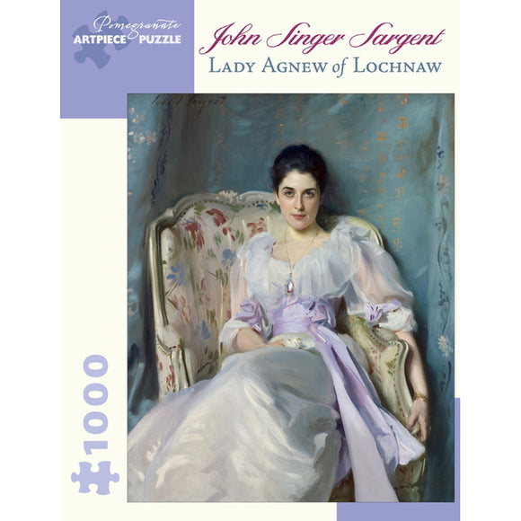 Sargent's Lady Agnew of Lochnaw 1000 Piece Puzzle