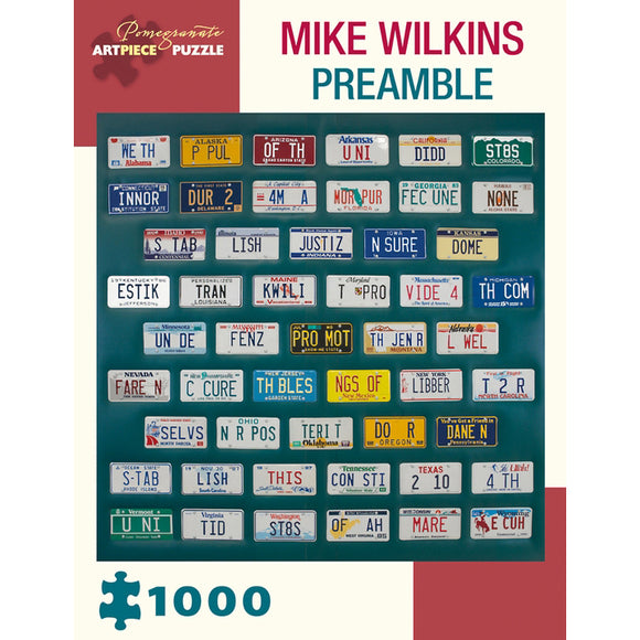 The Preamble 1000 Piece Puzzle