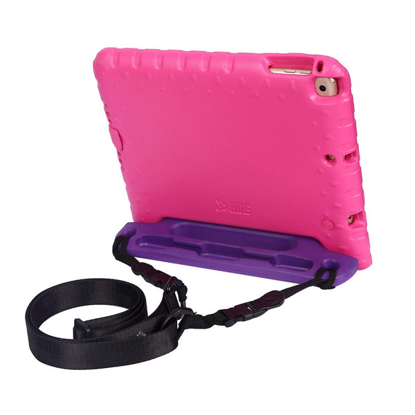HDE Shoulder Strap for Shockproof iPad Case - Adjustable Carry Strap Compatible with All Shock Proof Apple iPad Cases for Kids - Detachable Universal Design Transforms into a Car Headrest Mount
