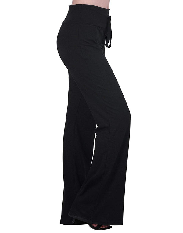 HDE Women's Maternity Lounge Wide Leg Yoga Pregnancy Pants