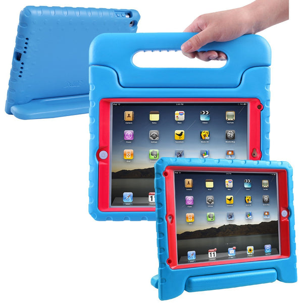 HDE Case for iPad Air 2 - Kids Shockproof Bumper Hard Cover Handle Stand with Built in Screen Protector for Apple iPad Air 2 - 2014 Release 2nd Generation