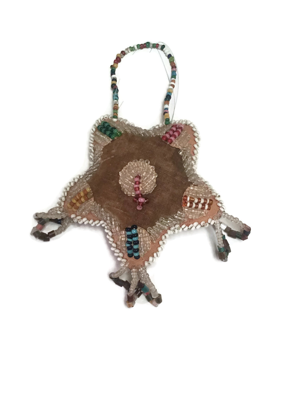 Antique Iroquois Bead Work Whimsy