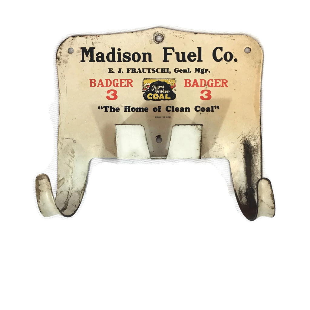 Vintage Madison Fuel Company Wall Mount