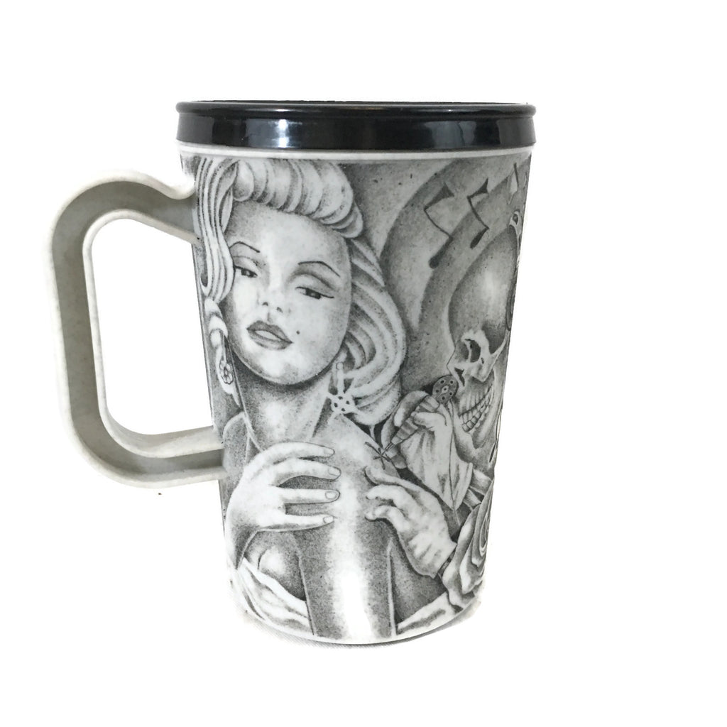 Inmate Artist Thomas Gray 3rd Strike Convict Prison Art Tattoo Drinking Cup
