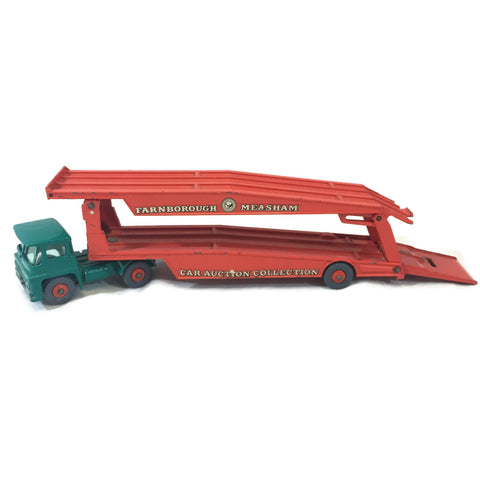 Vintage Matchbox Car Carrier Truck
