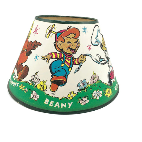 Vintage 1950's Beany & Cecil lamp Shade