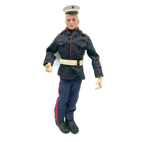 Vintage Blonde Marine GI Joe Doll