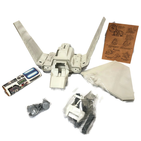 Vintage 1984 Starwars Imperial Shuttle In Box
