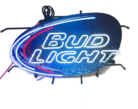 Bud Light Splash Neon Sign