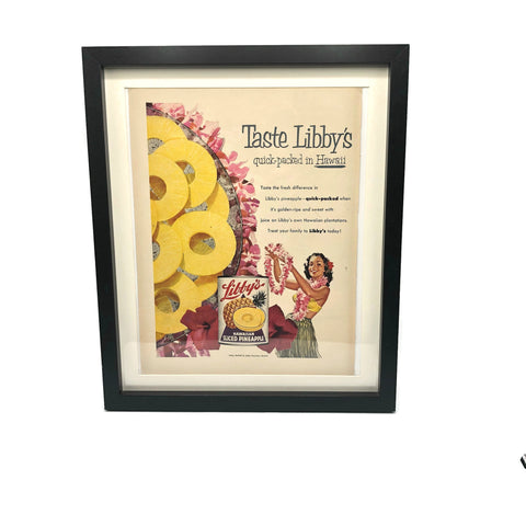 Vintage Libby's Pineapple Advertisement