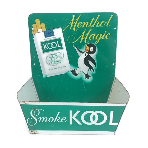 Vintage Kool Cigarettes Menthol Magic Cigarettes Display