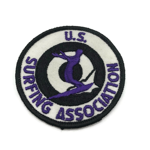 US Surfing Association Patch 1960's Vintage