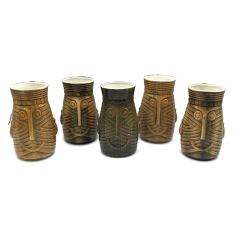 Westwood Japan Brown Tiki Mugs