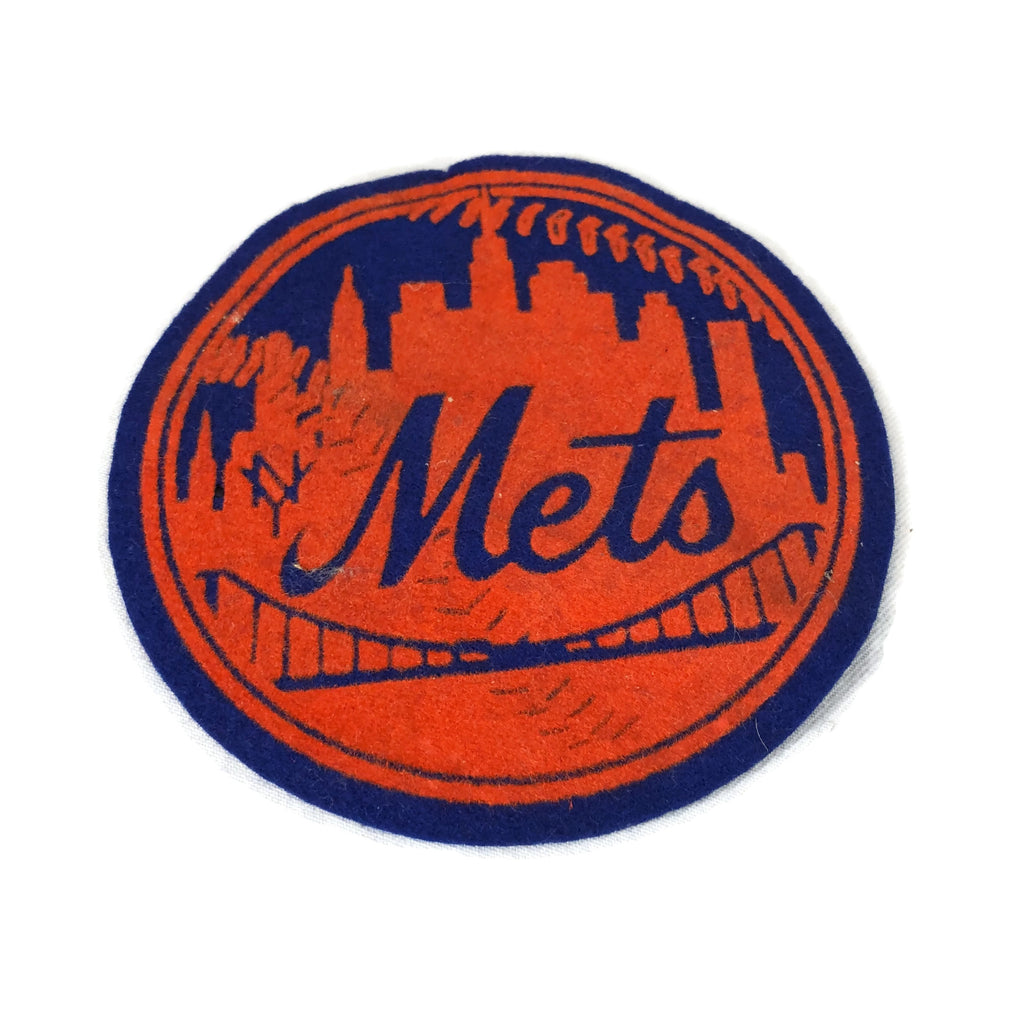 Vintage 1940's-1950's New York Mets Baseball Patch