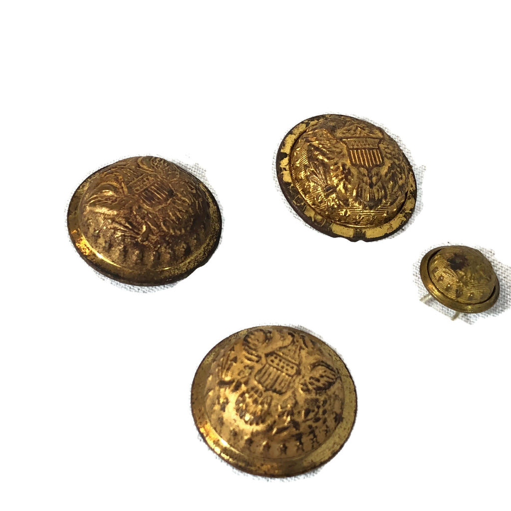 Antique Us Civil War Era Military Buttons
