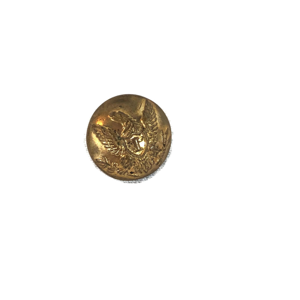 Antique Civil War Eagle Infantry Officers Vest Button