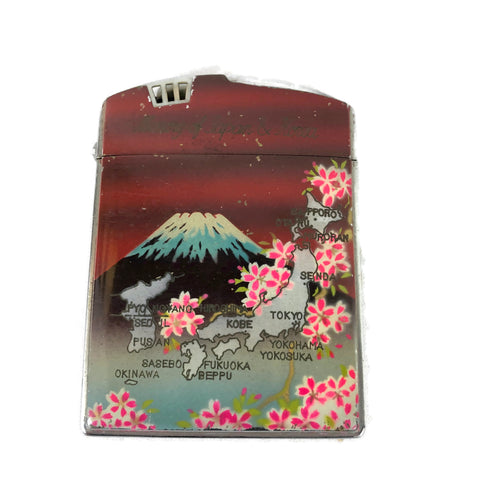 Vintage 1950's Japan & Korea Cigarette Case & Lighter